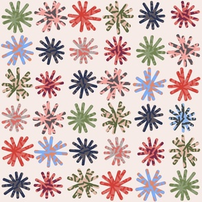 Day 4 - Daisy Daisy: Large scale for home decor, soft furnishings and wallpaper
