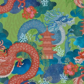 Mythical Dragons Chiang Mai Sage