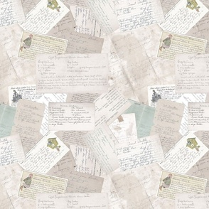 Old Recipes, Scatter (Faded)