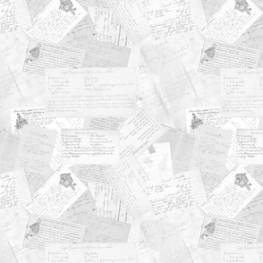 Old Recipes, Scatter (desaturated)