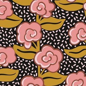 Rose Vine - Pink -Large