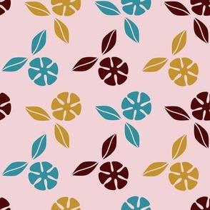 Zen Flower Ditsy: Cotton Candy