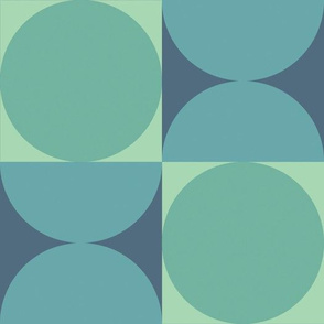 Retro Reverb in Moody Blue