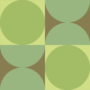 Retro Reverb in Tambourine Green