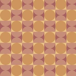 Retro Petite Reverb in Purple Tangerine