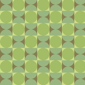 Retro Petite Reverb in Tambourine Green