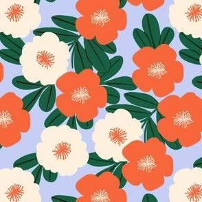 not so Christmasy floral