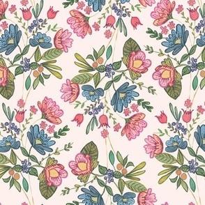 folk florals botanical folklore