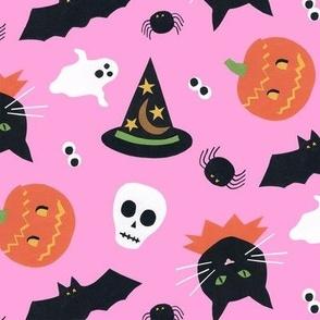 Halloween Pastel Pink
