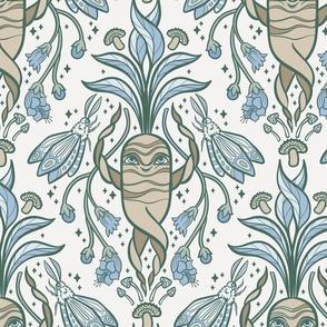 Magical Mandrakes in Calm Petal Solids Coordinates