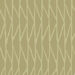 Triangle - Hand-Drawn  Geometric - Khaki - Medium Scale