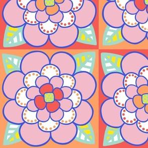 Summer Colored Flower 1 - JUMBO