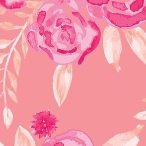 Jumbo // Pink Rose Garden