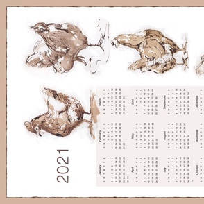 2022 calendar Chickens in the Garden