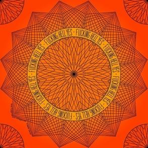 Fucking Hell YES - orange glow