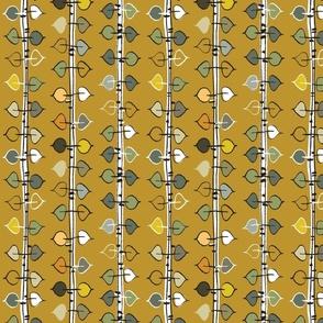 birch rustic 8 - tumeric