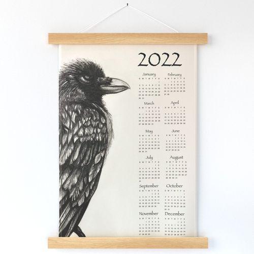 Raven calendar 2022