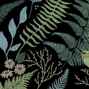 Calming Fern Forest Large Scale