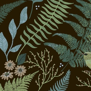 CALM FERN FOREST BROWN LARGE