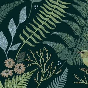 CALM FERN FOREST GREEN LARGE
