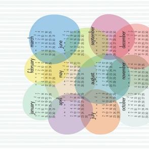 cat calendar - ballooning 2022 calendar - hot air balloon