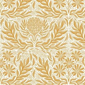 Calm & Classy (gold & white)