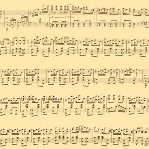 seamless maple leaf rag sheet music on cream