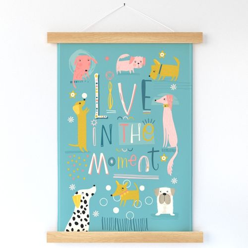 Live in the Moment Wall hanging