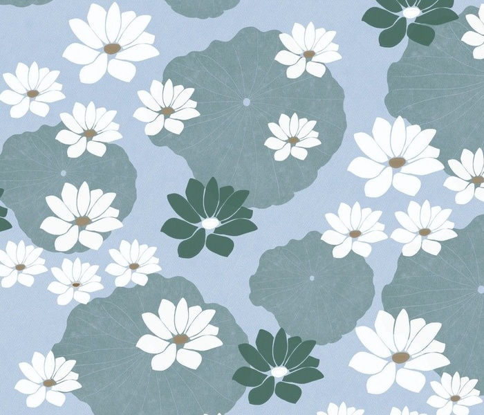 Calm Spaces - Lotus and Lily Pad