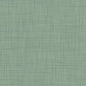 Linen Solid - Dusty Sage (Pine Overlay) (TulipDamask)