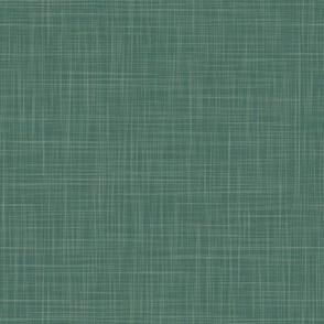 Linen Solid - Pine  - (Dusty Sage Overlay) (TulipDamask)