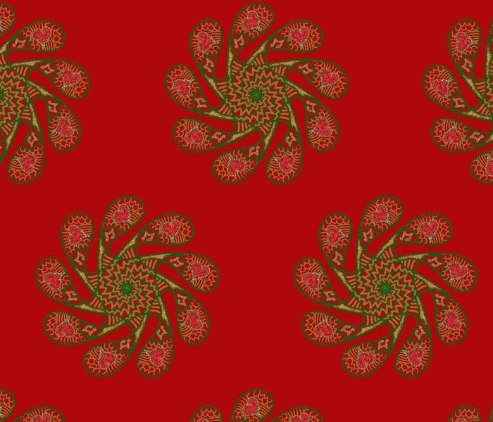 festive mandala