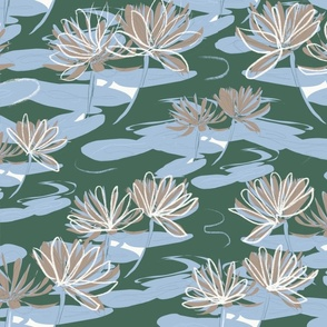 The_serenity_of_the_waterlily