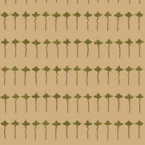 maple leaf rag tiny leaves - antique