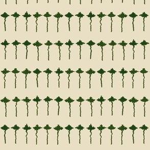 maple leaf rag tiny leaves - beige