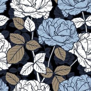 calm color palette - Roses