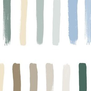 Calm Colors-Brush Strokes - Large