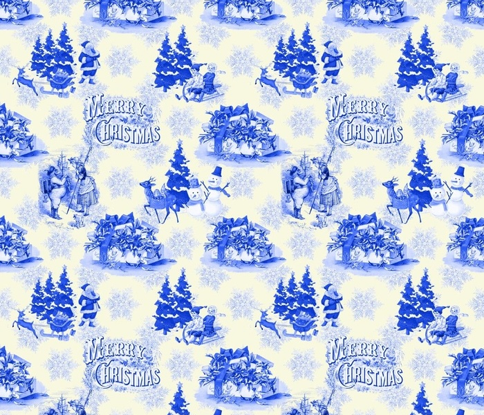 Christmas Holiday Toile
