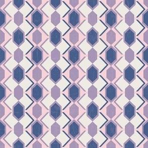 Pink Tribal Geometrical-nanditasingh