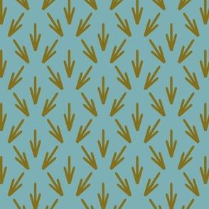 Olive blue Stamen