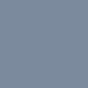 musical snowflakes on cobalt blue
