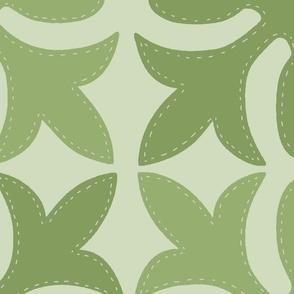 Hawaiian Quilt Sage