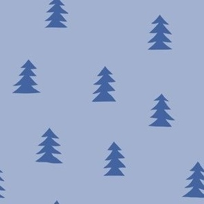 Christmas Tree Small Scale - Blue