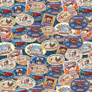hesston rodeo finals patches