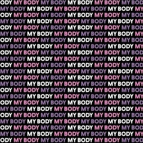 My Body Pink Purple Small