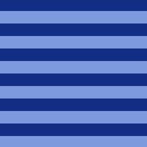 "josh stripes - 1/2"" stripes - blue stripes"