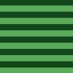 "Steve stripes - 1/2"" stripes - green stripes"