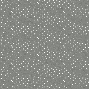 Spots -  pewter petal solid