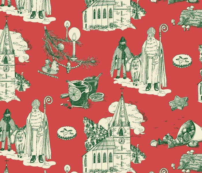Holiday-Toile-OldWorld-green-01