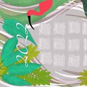2022 Tea Towel Tropics